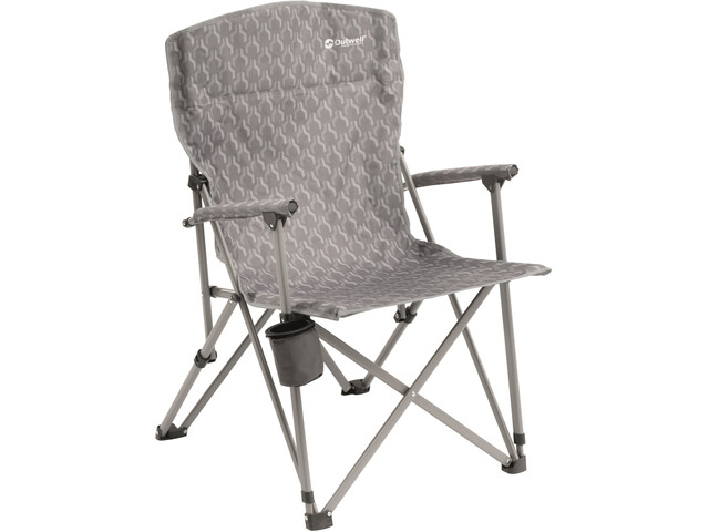 Outwell Spring Hills Folding Chair Silver